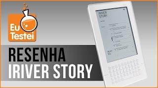 eReader iriver story - Resenha Brasil