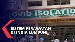 Download Gelombang Tsunami Covid-19, Banyak Pasien di India Terlantar di Depan Rumah Sakit