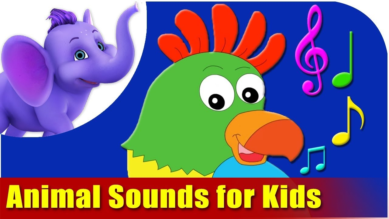animal sounds for kids youtube