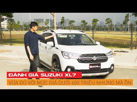 Đánh giá Suzuki XL7: Vừa đủ với mức giá dưới 600 triệu nhưng mà ồn | Whatcar.vn