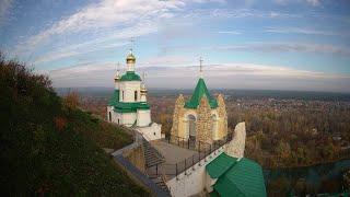 Божественная литургия 22 октября 2021 года Свято-Успенская Святогорская лавра Украина Святогорск