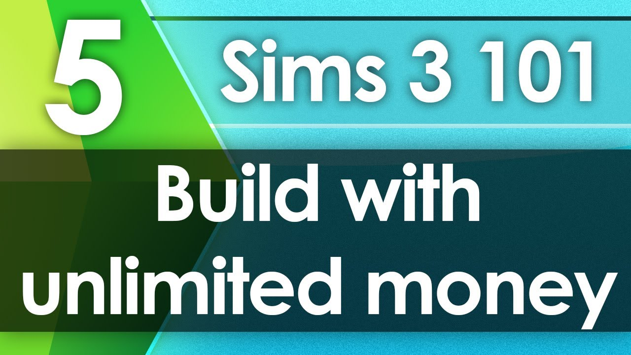 Sims  Unlimited Money Build Mode