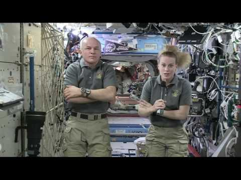 Space Station Crew Discusses Life in Space and Research with ABC News