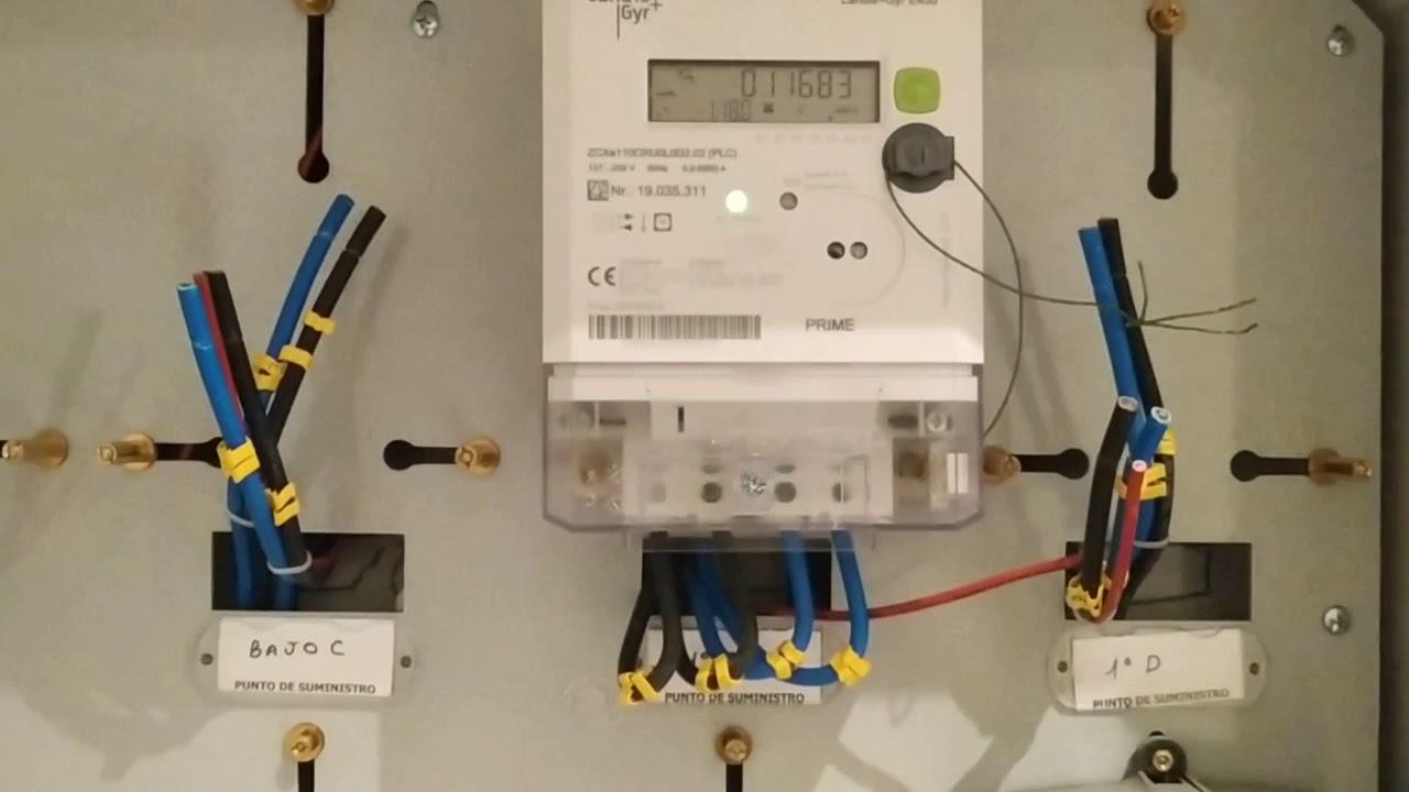 Como Conectar Contador Electrico Monofasico