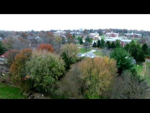 Jacksonville Illinois Drone Flight NOV 2016