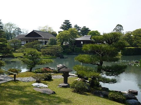 Katsura Imperial Villa in Japan Japanology Mini    (桂離宮 Katsura Rikyū)