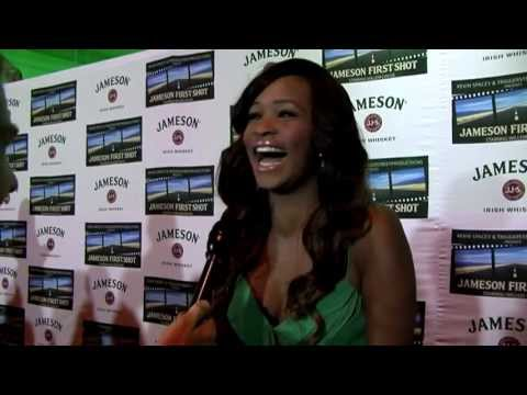 Nyasha Zimucha interview at the Jameson First Shot premiere