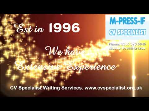 CV Specialist Writing Assistance for Graduates seeking work  est 1996