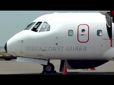 PK-XNE , Airtech CN-235-220M , South Korea - Coast Guard @ TaoYuan International Airport , Taiwan