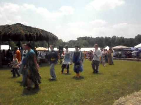 Miami Indian All Nations Gathering Grand Entry June 4 2011 Rockville Indiana