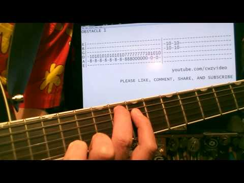 Guitar Lesson Interpol Obstacle 1 Tab