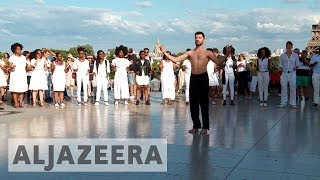 Syrian refugee uses ballet to convey message of peace