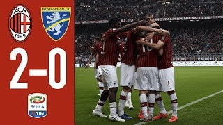 HIghlights AC Milan 2-0 Frosinone - Matchday 37 Serie A TIM 2018/2019