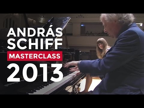 Sir András Schiff Masterclass at the Royal College of Music