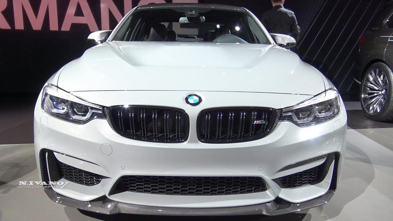 2018 Bmw M3 Cs Exterior And Interior Walkaround La Auto Show