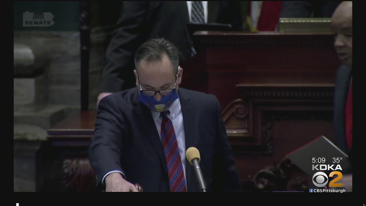 Pa. Sen. Jim Brewster Not Sworn In As State Senate Dissolves Into Chaos Over Contested Election