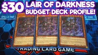 Yu-Gi-Oh! $30 Budget Lair of Darkness Deck Profile! 3x Structure Decks!