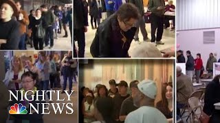 Energized Voters Hit The Polls For What Could Be Record Midterm Turnout | NBC Nightly News