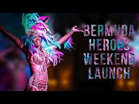 Bermuda Heroes Weekend Band Launch, January 8 2017