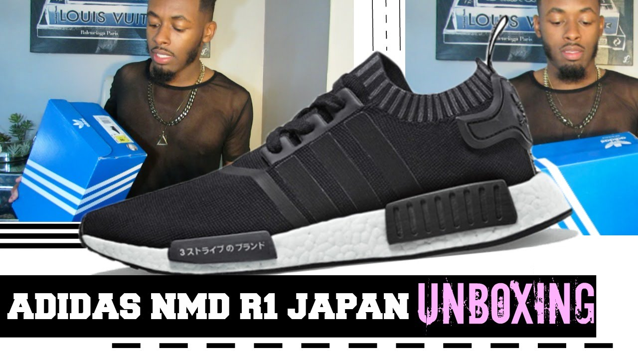 86e703d3146e5 Adidas NMD R1 Japan Unboxing - YouTube
