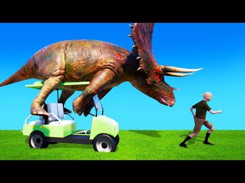 DINOSAURS STOLE My CAR! (Zoo Simulator)