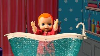 Люси и ее семье привезли в дом новую ванну - New doll bath for dolls
