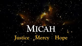 Micah: The Lord's Grand Plan