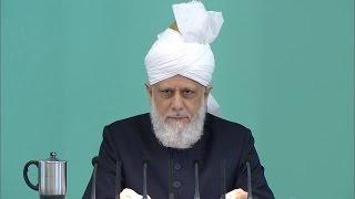 Cuma Hutbesi 31-07-2015 - Islam Ahmadiyya