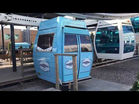 Helsinki, Finland SkySauna 2019 - World's Only Ferris Wheel Sauna