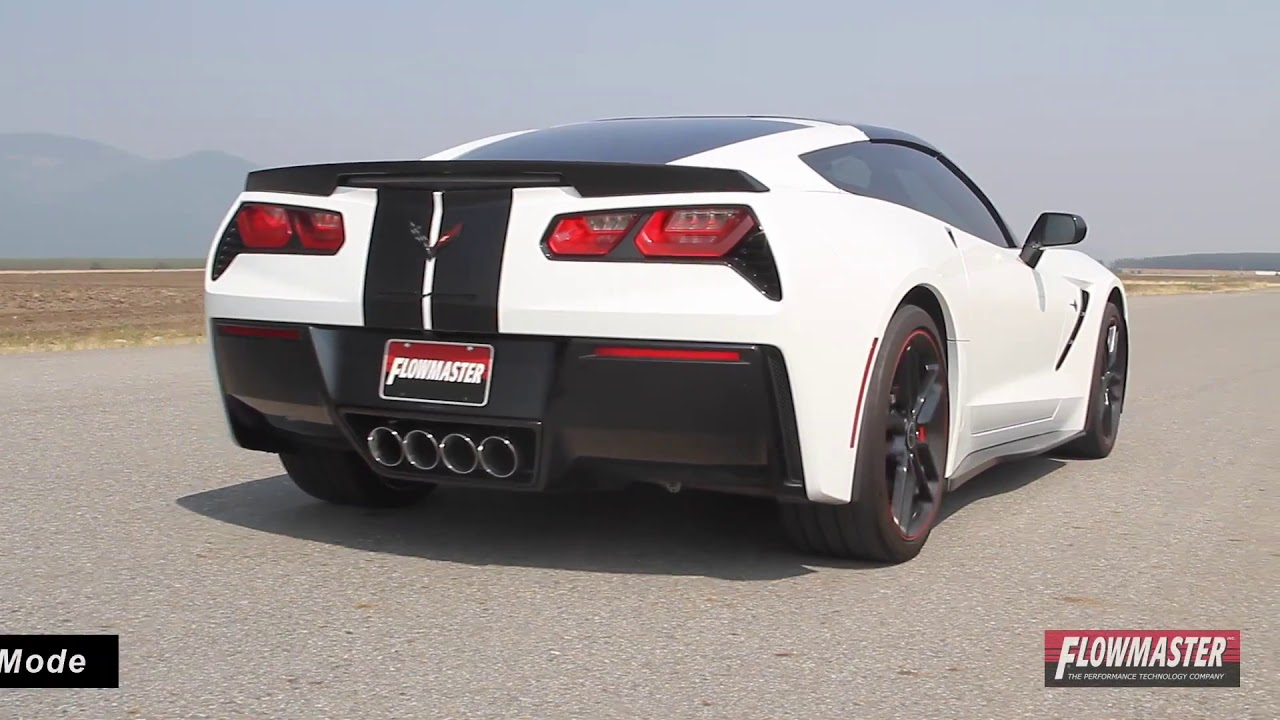 2014-2017 Chevy Corvette Stingray Performance Exhaust System Kit Flowmaster  Outlaw Axle Back 817783