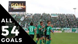 松本山雅FC J2リーグ 2018シーズン 全ゴール セルジーニョ(11)、前田...