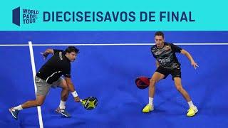 Resumen Dieciseisavos de Final (Primer Turno) Masculino ADESLAS Open 2020