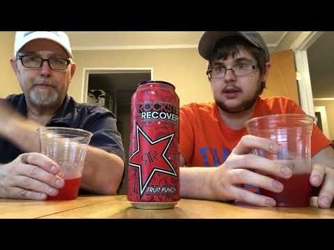 The Beer Review Guy # 1123 Rock Star Recovery Fruit Punch