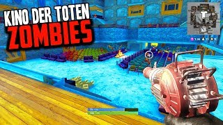 KINO DER TOTEN IN FORTNITE w/ ZOMBIES! (Fortnite Call of Duty Custom Creative Map)
