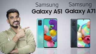 Samsung Galaxy A51 and Galaxy A71: Review of specifications [Hindi]