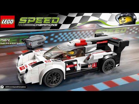 Lego 75872 Audi R18 e tron quattro Speed Champions (Instruction Booklet)