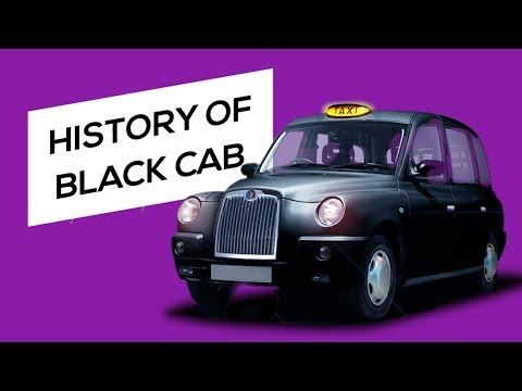 Why London taxi is black? (History of Black Cab)