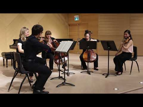 64thAnnual Young Musicians Competition: Schubert String Quartet in C Major