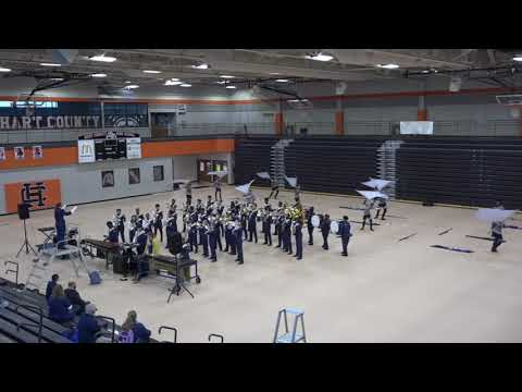 Dacula High School Marching Band   2019 Festival   Indoor Competition