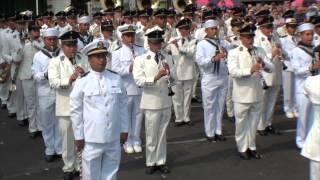 Parade - Festival Musiques militaires Saumur 2015