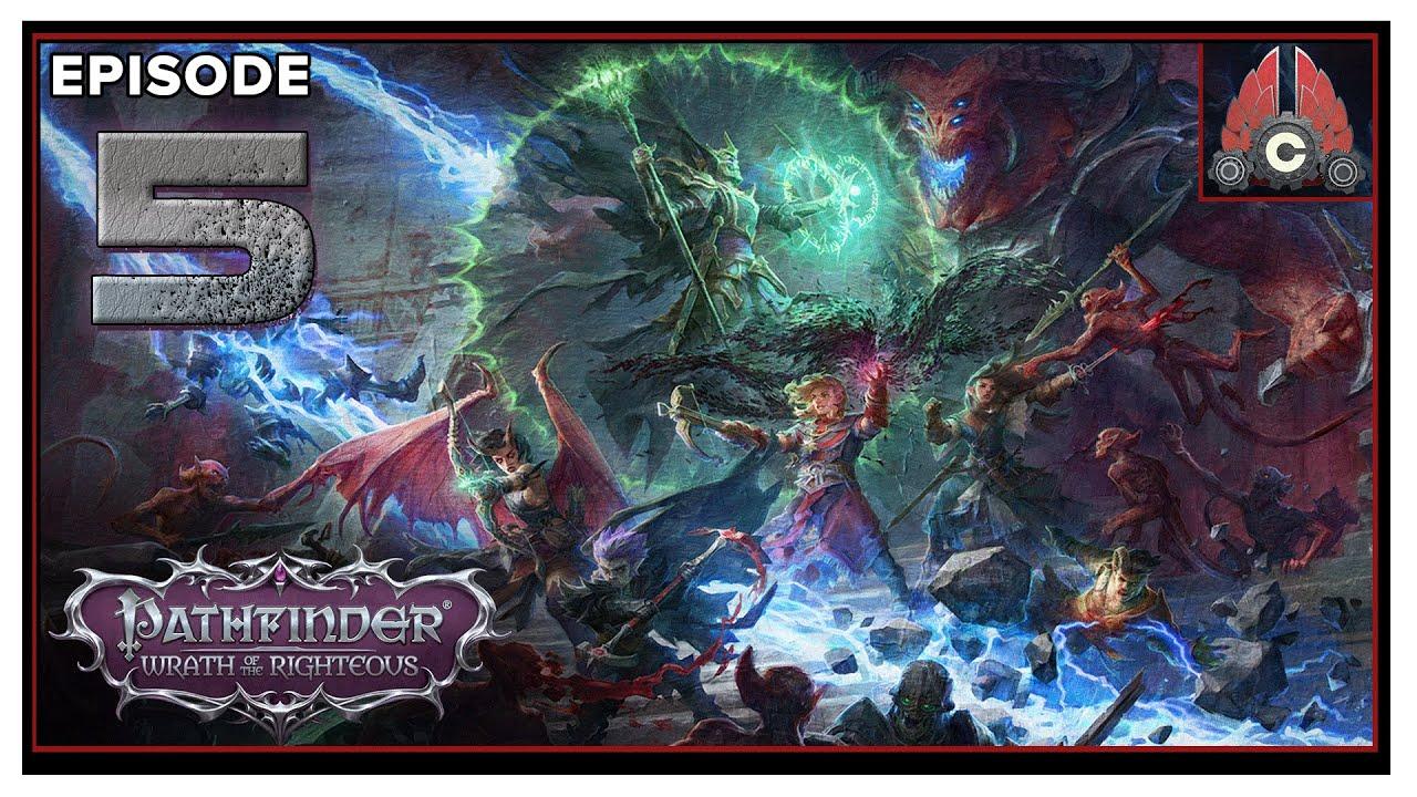 CohhCarnage Plays Pathfinder: Wrath Of The Righteous (Aasimer Deliverer/Hard) - Episode 5