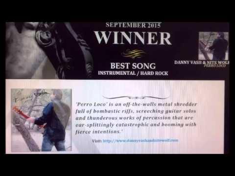 Nite Wolf 'Perro Loco' Hard Rock Instrumental