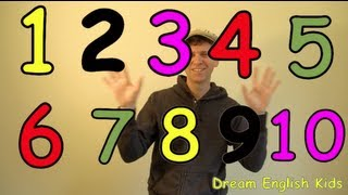 Numbers Song Lets Count 1-10 New Version