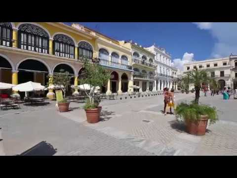 Plaza Vieja square in Old Havana, Cuba - InHavana