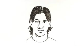 How to Draw Lionel Messi