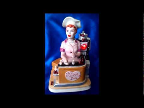 1996 I Love Lucy Job Switching Melody In Motion Figure