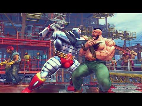 Ultra Street Fighter IV - Zangief VS Zangief |