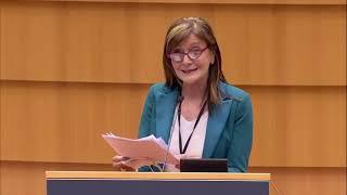 Intervento in Plenaria della parlamentare europea Patrizia Toia sul programma mercato interno.