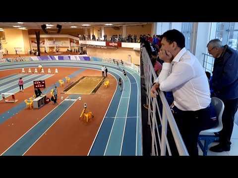 400 м, юниорки U20. Екатерина Зорина - 56,40 (1 место). ПФО 2019, Новочебоксарск
