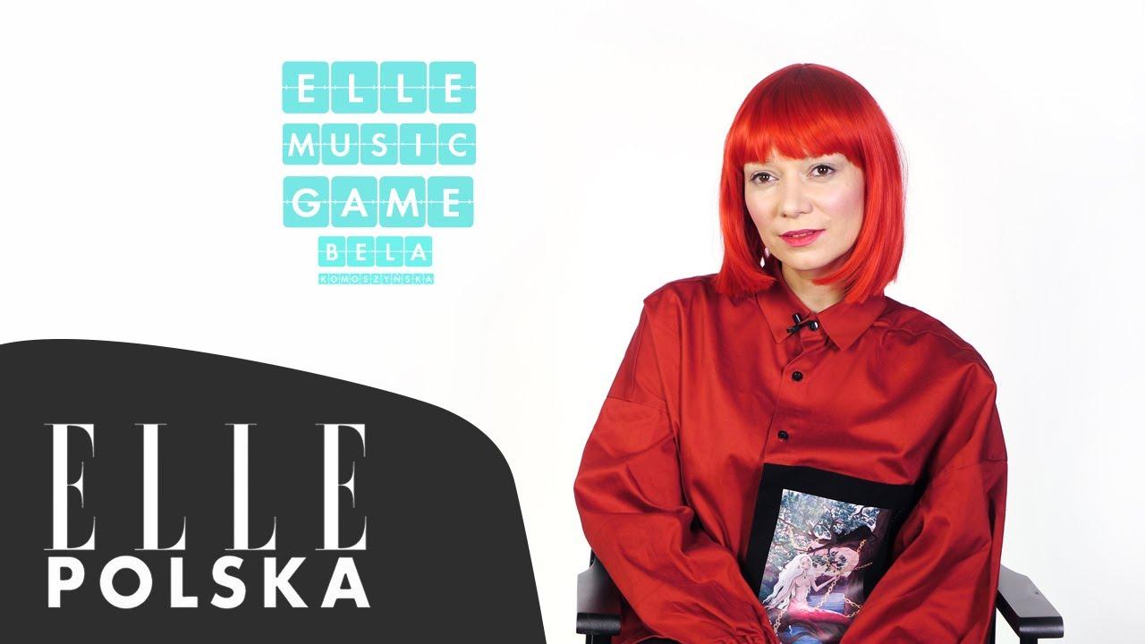 Bela Komoszyńska śpiewa piosenki Fleetwood Mac, Nosowskiej i Patti Smith [ELLE Music Game]